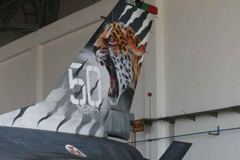 15105 - New paint scheme, to celebrate the 50th anniversary of the 301 JAGUARES squadron - FAP