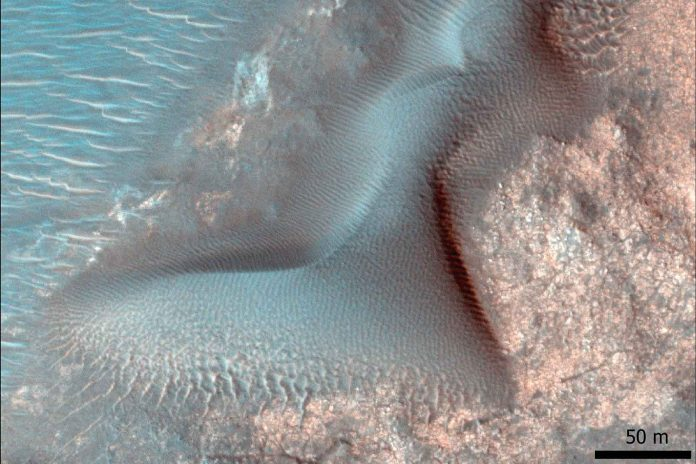 Nili_Fossae_Créditos - NASA - JPL University of Arizona