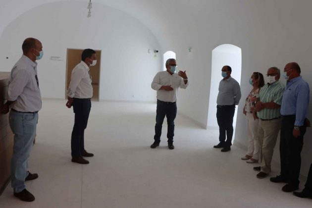 Pedro Marques visita obras co-financiadas